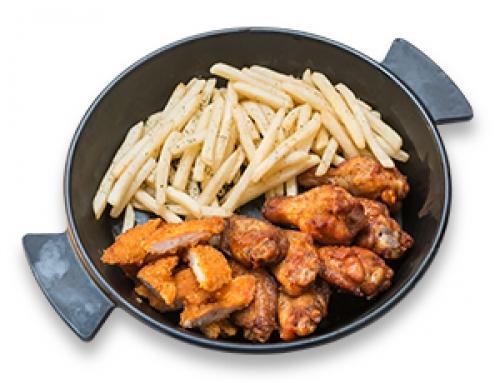 치킨 플레이트